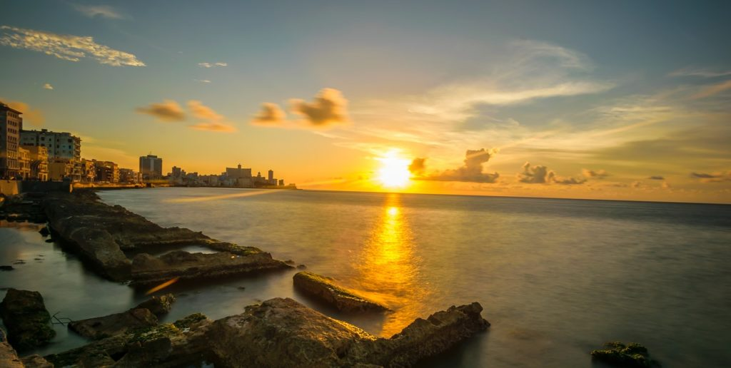 Havanna auringonlasku