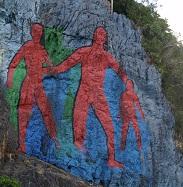 Cuba Natura kalliomaalaus